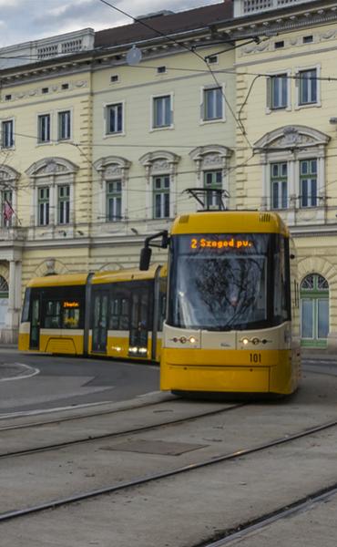Szeged elektromos tömegközlekedés projekt